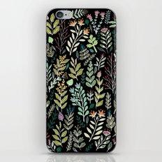 Dark Botanic iPhone & iPod Skin