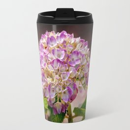 Hydrangea - textured Travel Mug