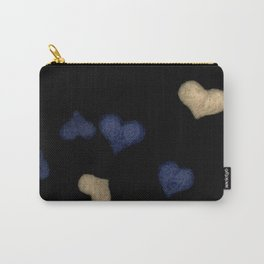 felted hearts Carry-All Pouch
