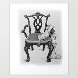 Arm Chair Traveler Art Print