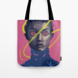 Beautiful Gigi, POP art style, digitally painted Tote Bag