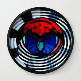 Galliani Color Burn Wall Clock
