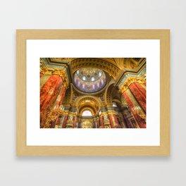 St Stephen's Cathedral Budapest Framed Art Print