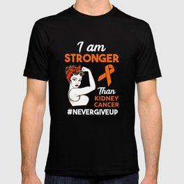 Kidney Cancer Awareness design Gift T-shirt