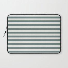 Blue Green Stripes Laptop Sleeve