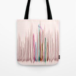 Rainbow Seeds Sprouts Circle of Life Flowers Tote Bag