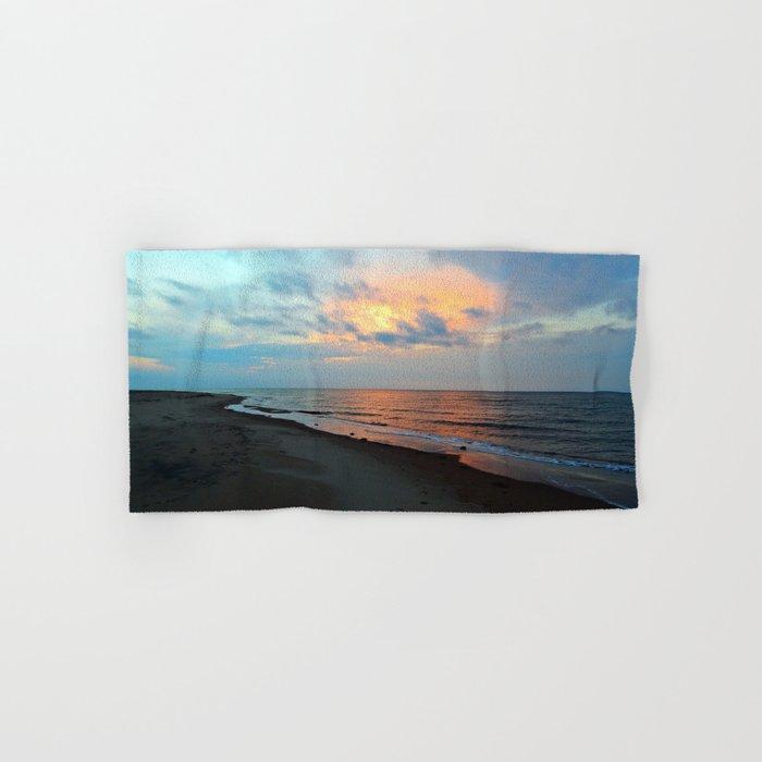 PEI Sandy Beach Sunset Hand & Bath Towel