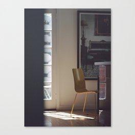 House-Sitting Canvas Print