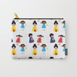 Little girls pattern Carry-All Pouch
