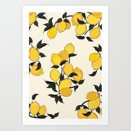 When life gives you lemons... Art Print