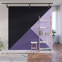 Trinity Color Block Ultra Violet Wall Mural