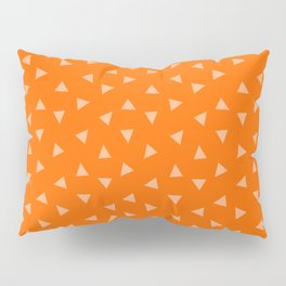 Festive Orange 2 Pillow Sham