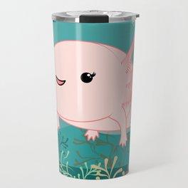 Axolotl baby kawaii Travel Mug