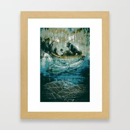 The Sound That Carries Across the Ocean Framed Art Print