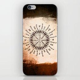 Windrose brown version iPhone Skin