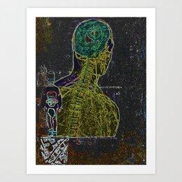 The Stranger Art Print