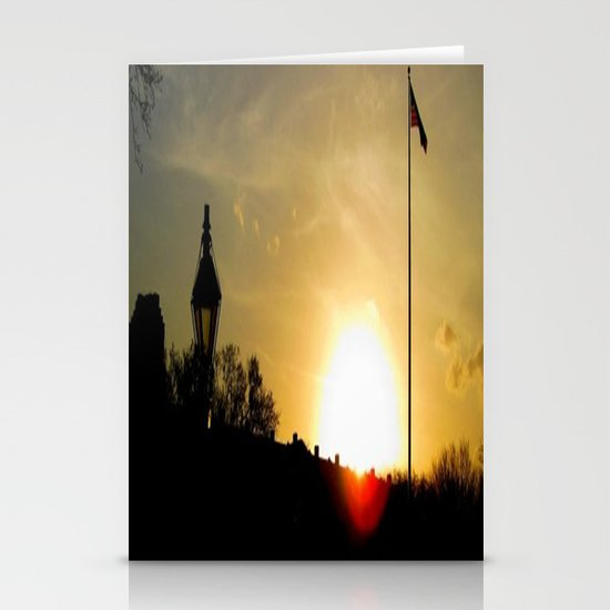 Plaza de Armas, New Orleans Stationery Cards
