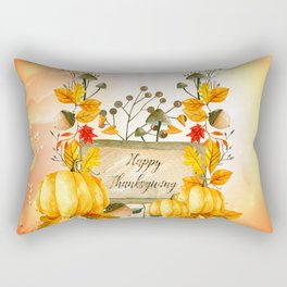 Happy thanksgiving Rectangular Pillow