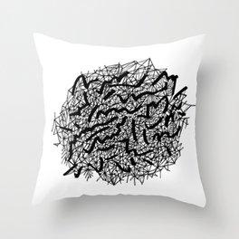 Modern Lace Throw Pillow