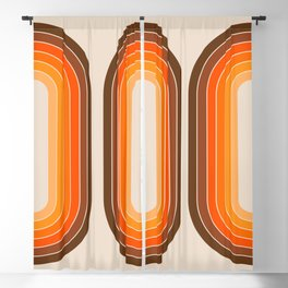 Tan Tunnel Blackout Curtain