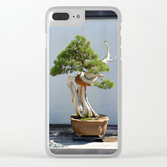 Natural Knot Clear iPhone Case