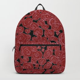 Rose Bed Backpack