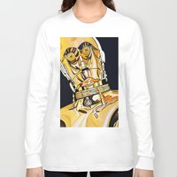 c3po Long Sleeve T-shirts featuring C3PO by Laura-A