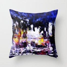 flash night Throw Pillow