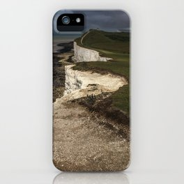 White cliffs of Beachy Head iPhone Case