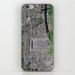 Churchyard Wall iPhone Skin