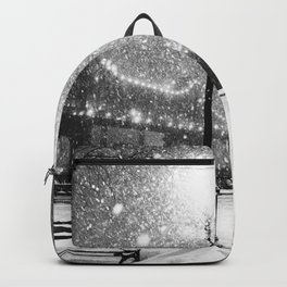 New York City Night Snow Backpack