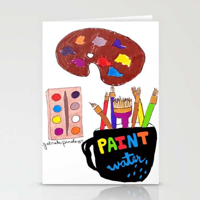 Artist Tools Stationery Cards