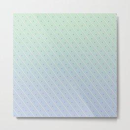 Stripes and Polka-dots Metal Print