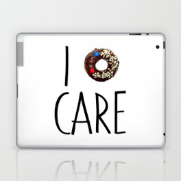 i do not care Laptop & iPad Skin