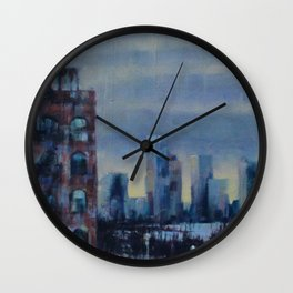 View from the Highline Wall Clock