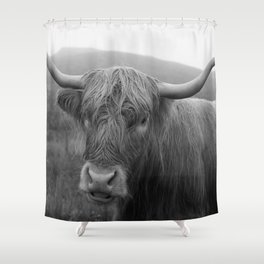 Highland cow I Shower Curtain