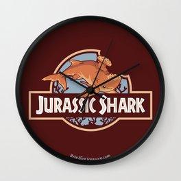 Jurassic Shark - Stethacanthus Shark Wall Clock
