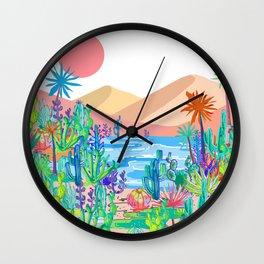 Wild West Desert Wall Clock