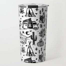 Sleeping Desert Travel Mug