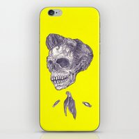johnny cash iPhone & iPod Skins featuring Johnny Cash by Christos Skouras