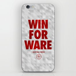 Win For Ware iPhone Skin