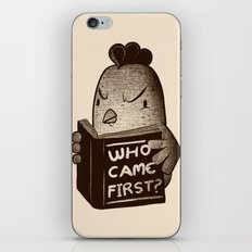 Chicken Who Came First iPhone & iPod Skin