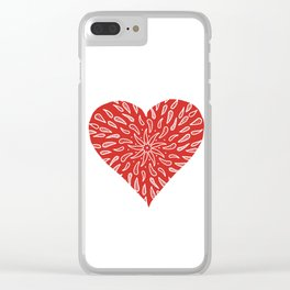 Be Still My Heart Clear iPhone Case