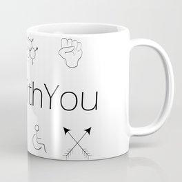 I'm With You Coffee Mug