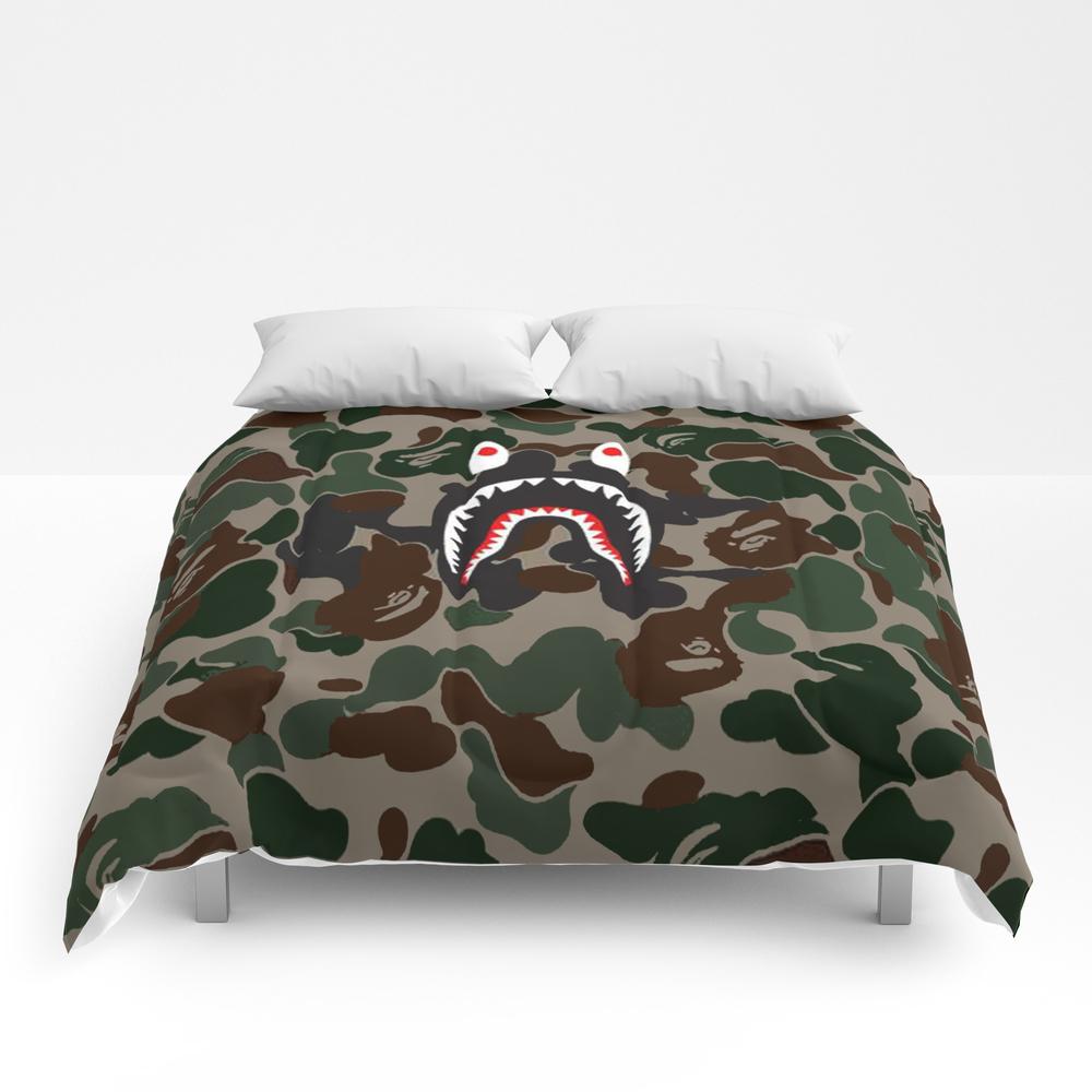 Shark Face Logo Comforter by Radeon CMF8266449