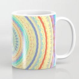 Spring Color Mandala Design Coffee Mug