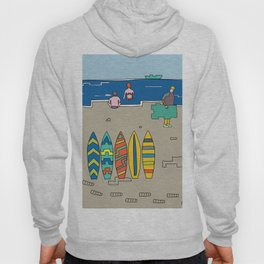 Afternoon at the beach (b) Hoody