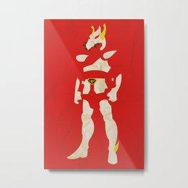 Saint Seiya Metal Print