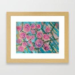 Florence Rose Framed Art Print