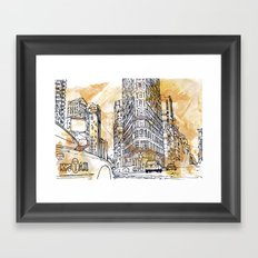 175 Fifth Avenue V2.  Framed Art Print